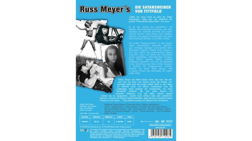 Russ Meyer Die Satansweiber von Tittfield Kino Edition