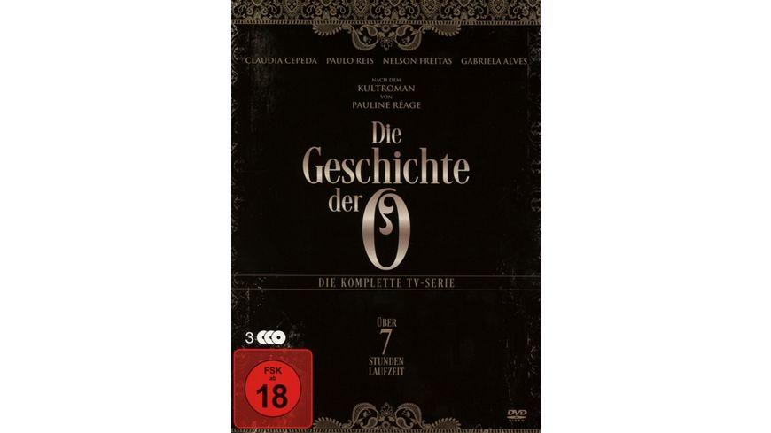 Die Geschichte der O Die komplette TV Serie 3 DVDs