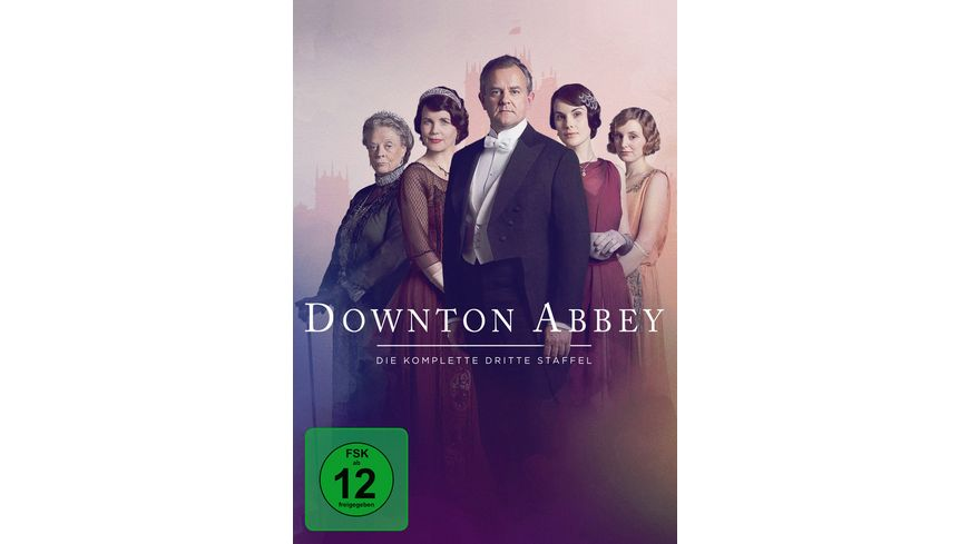 Downton Abbey Staffel 3 4 DVDs