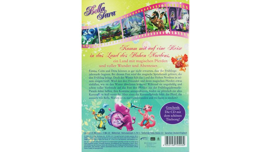 Bella Sara Das Zauberkarussell CD