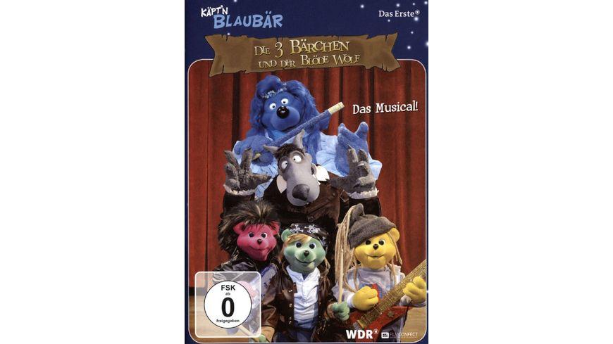 Kaept n Blaubaer Das Musical Die 3 Baerchen und der bloede Wolf