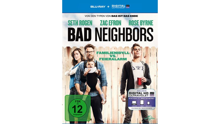 Bad Neighbors inkl Digital Ultraviolet