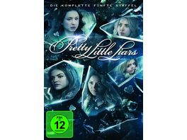 Pretty Little Liars Die komplette 5 Staffel 6 DVDs