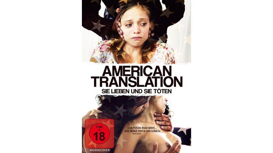American Translation Sie lieben und sie toeten
