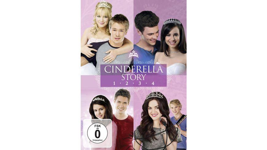 Cinderella Story Boxset 1 4 4 DVDs