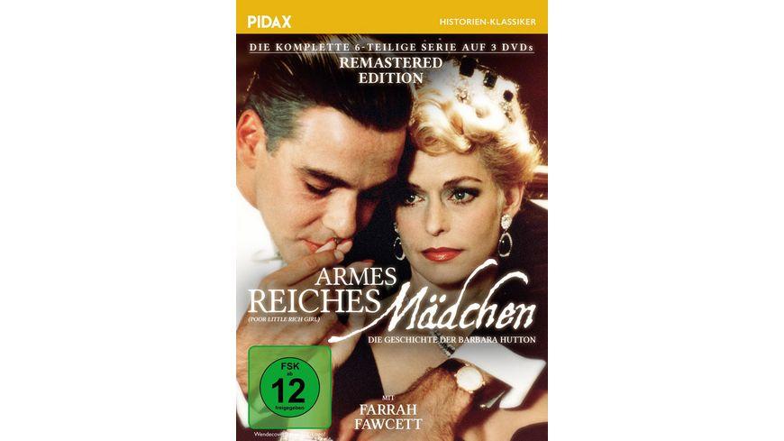 Armes reiches Maedchen Die Geschichte der Barbara Hutton Remastered Edition Pidax Historien Klassiker 3 DVDs