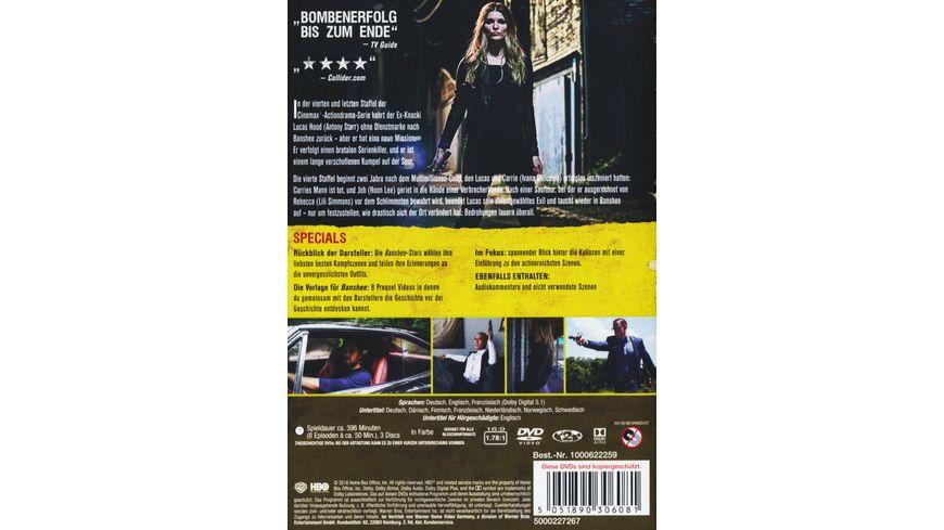 Banshee Staffel 4 3 DVDs