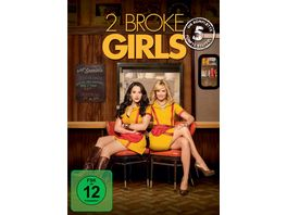 2 Broke Girls Staffel 5 3 DVDs