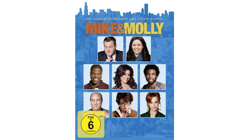 Mike Molly Staffel 6 2 DVDs