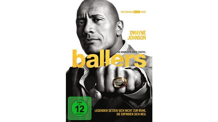 Ballers Die komplette 1 Staffel 2 DVDs