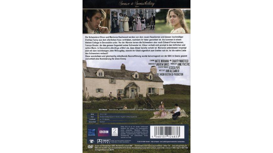 Sense Sensibility 2007 2 DVDs