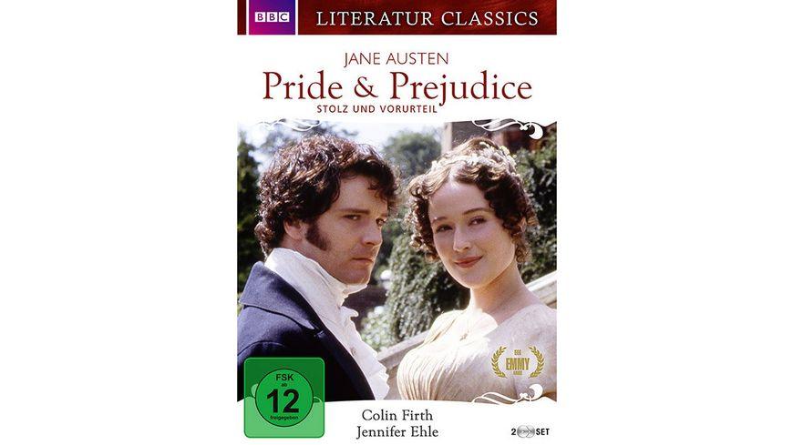 Pride Prejudice Jane Austen Literatur Classics 2 DVDs