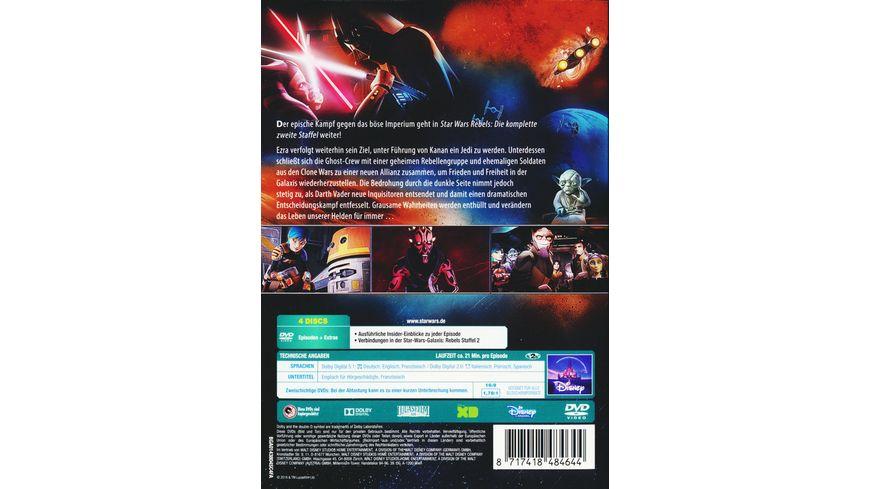 Star Wars Rebels Die komplette zweite Staffel 4 DVDs