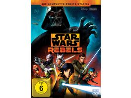 Star Wars Rebels Die komplette zweite Staffel 4 DVDs
