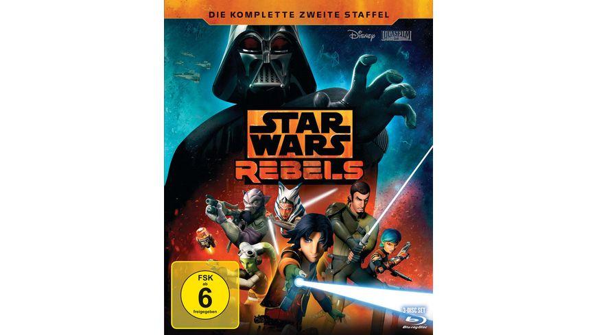 Star Wars Rebels Die komplette zweite Staffel 3 BRs