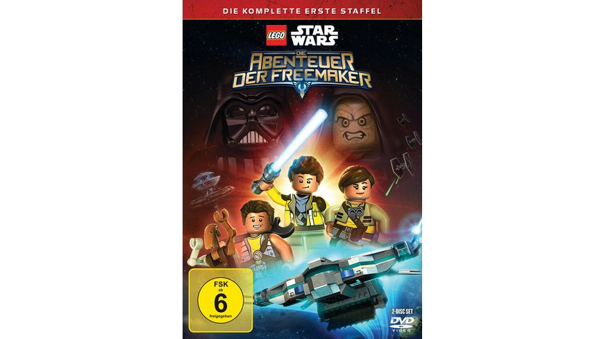 Lego Star Wars Die Abenteuer der Freemaker Staffel 1 2 DVDs
