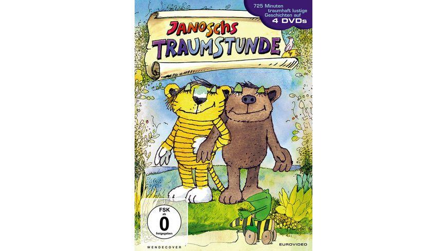Janoschs Traumstunde 4 DVDs in der Softbox mit Schuber