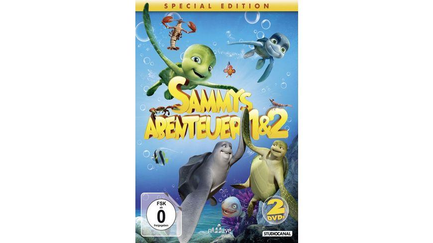 Sammys Abenteuer 1 2 SE 2 DVDs
