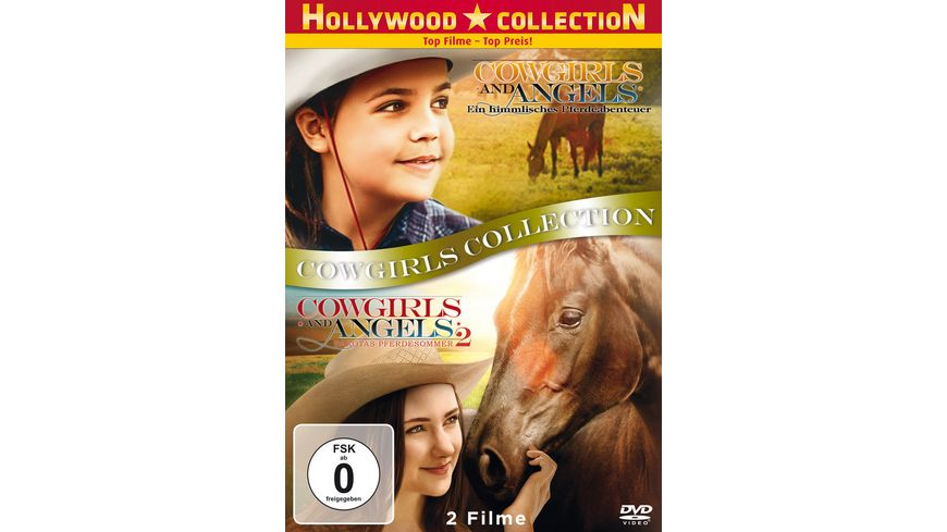 Cowgirls and Angels 1 2 Cowgirls Collection 2 DVDs
