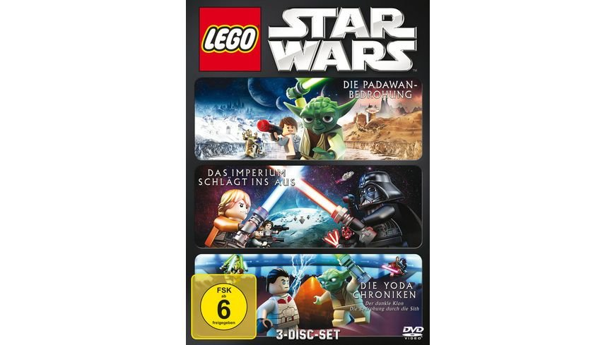 Lego Star Wars Box 3 DVDs