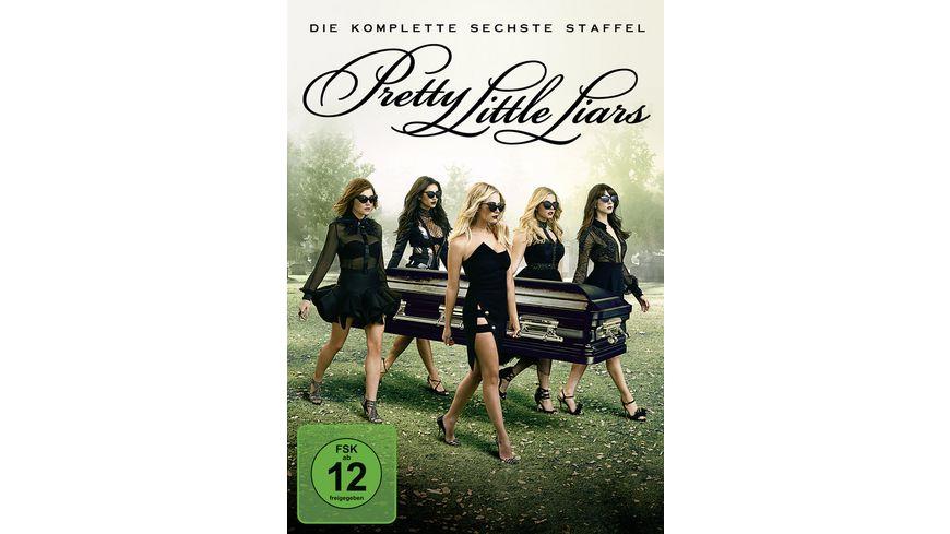 Pretty Little Liars Die komplette 6 Staffel 5 DVDs