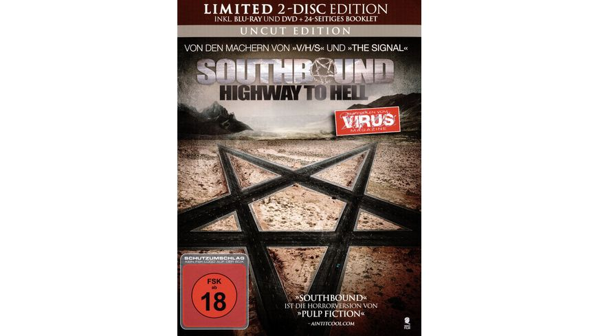 Southbound Highway to Hell Mediabook Uncut Edition DVD