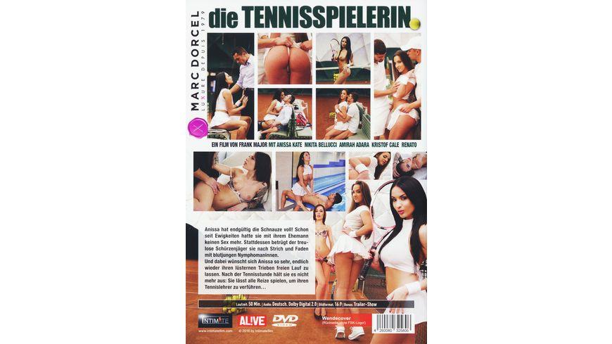 Die Tennisspielerin