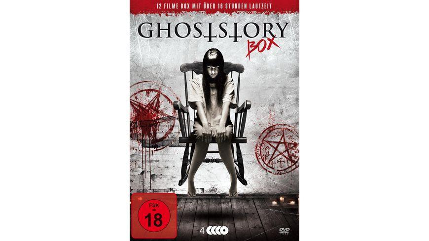 Ghoststory Box 4 DVDs