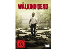 The Walking Dead Die komplette sechste Staffel Uncut 6 DVDs