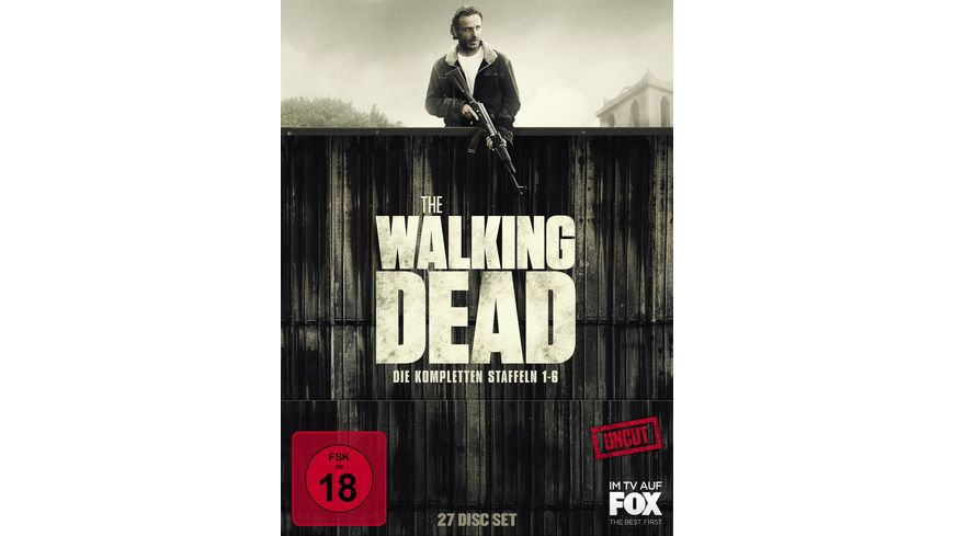 The Walking Dead Staffel 1 6 Box Uncut 26 BRs