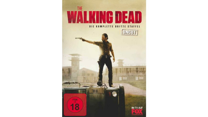 The Walking Dead Die komplette dritte Staffel Uncut 5 DVDs