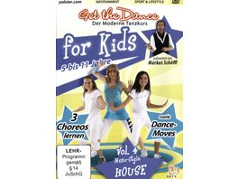Get the Dance for Kids Vol 4 House