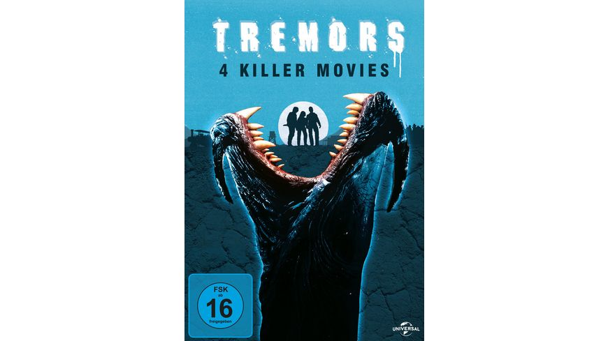 Tremors 1 4 4 DVDs