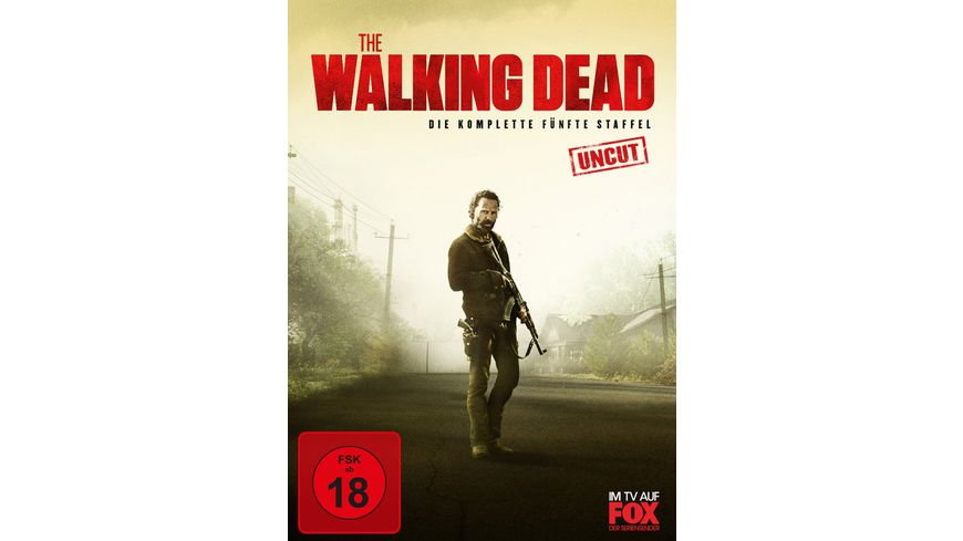 The Walking Dead Die komplette fuenfte Staffel Uncut 5 DVDs
