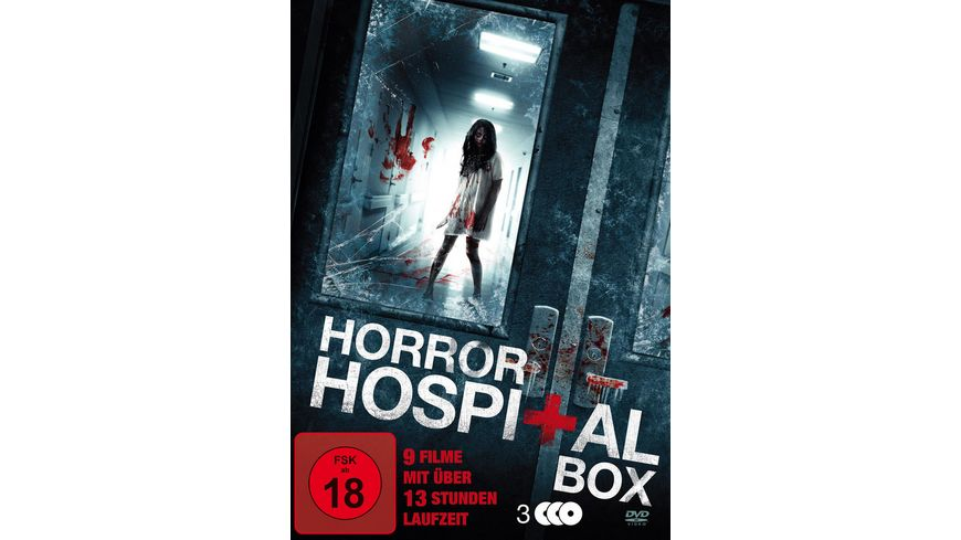 Horror Hospital Box 3 DVDs