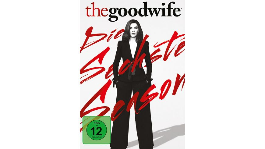 The Good Wife Season 6 6 DVDs