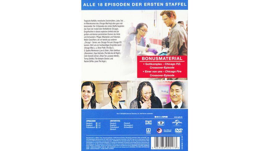 Chicago Med Staffel 1 5 DVDs