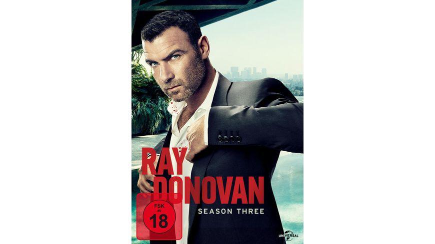 Ray Donovan Season 3 4 DVDs