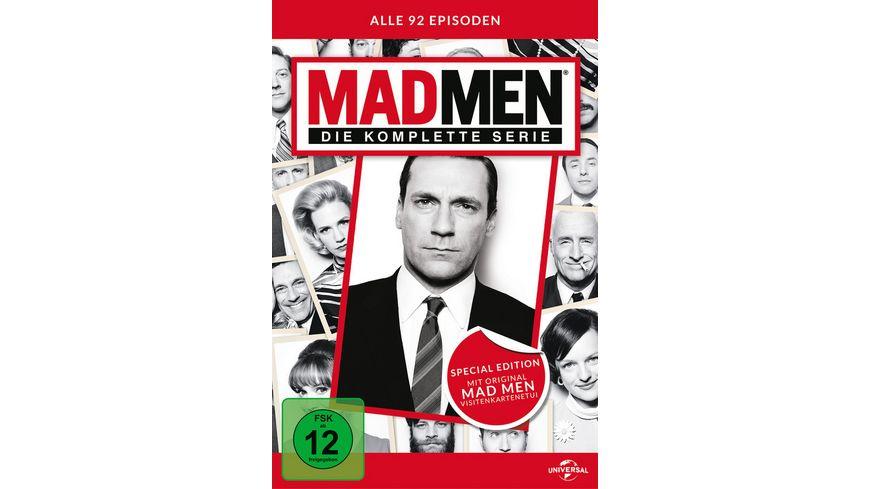 Mad Men Die komplette Serie LE 30 DVDs inkl Visitenkarten Etui
