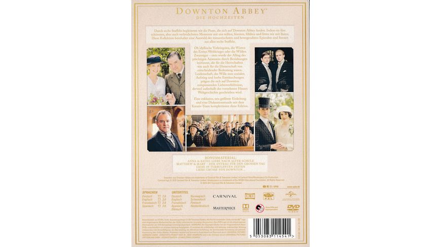 Downton Abbey Die Hochzeiten 3 DVDs