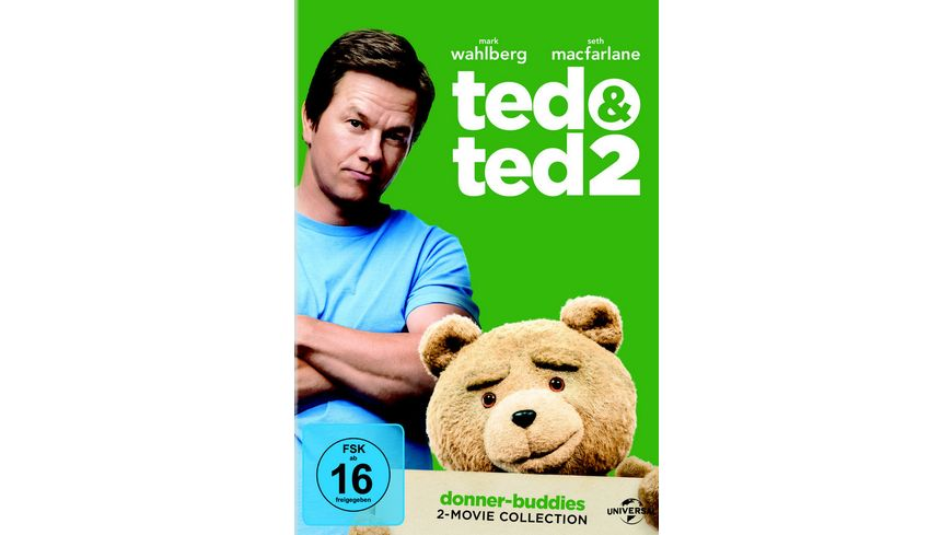 Ted 1 2 Box 2 DVDs