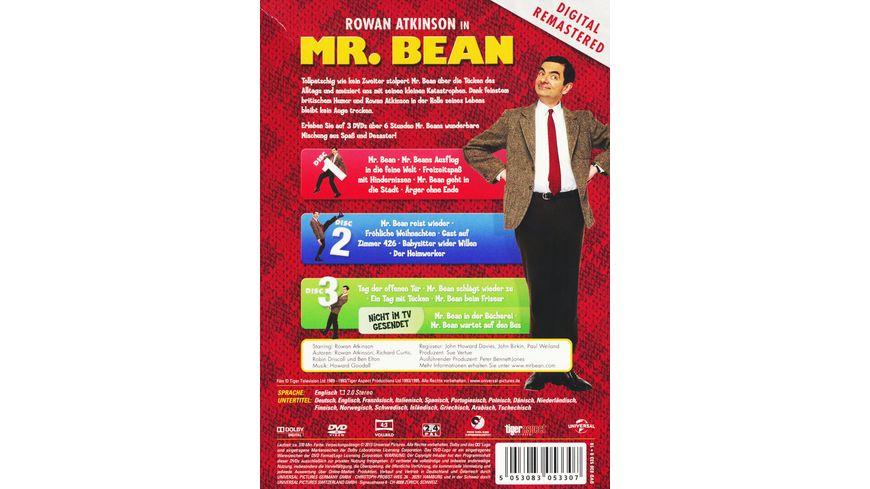 Mr Bean Die komplette TV Serie Strick Teddy LE 3 DVDs