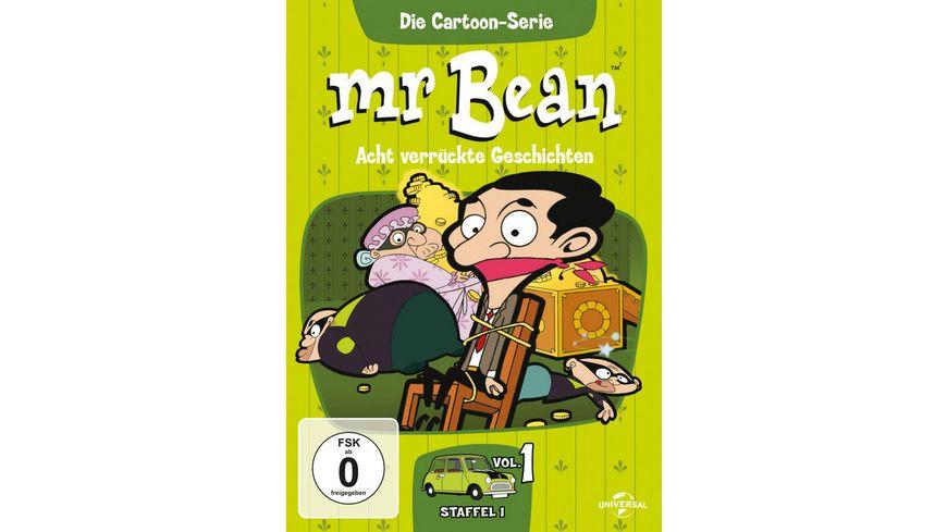 Mr Bean Die Cartoon Serie Acht verrueckte Geschichten Staffel 1 Vol 1