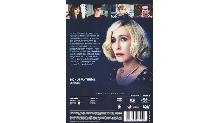 Bates Motel Season 4 3 DVDs