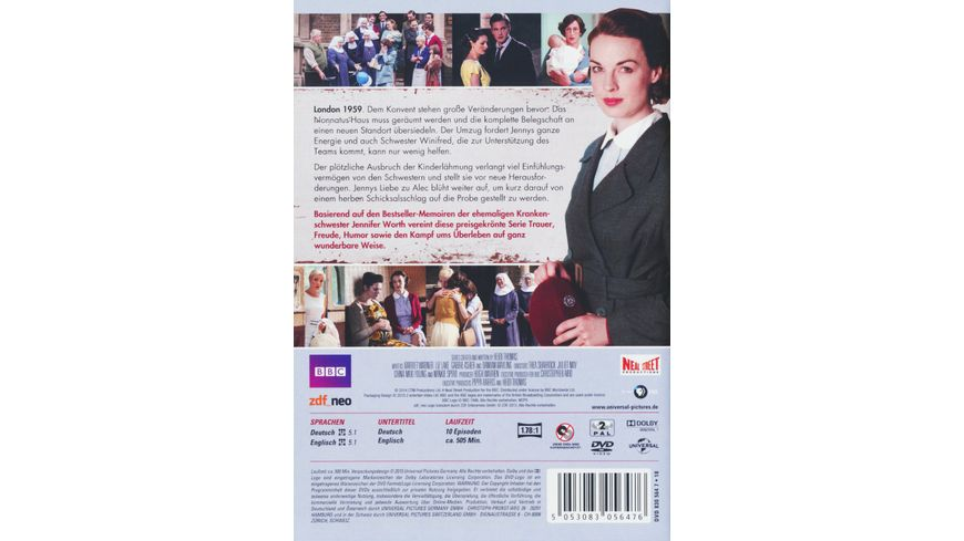 Call the Midwife Staffel 3 3 DVDs