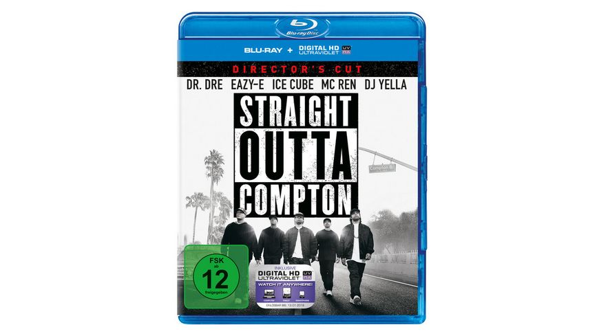 Straight Outta Compton DC inkl Digital Ultraviolet