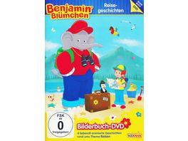 Benjamin Bluemchen Bilderbuch DVD Reisegeschichten