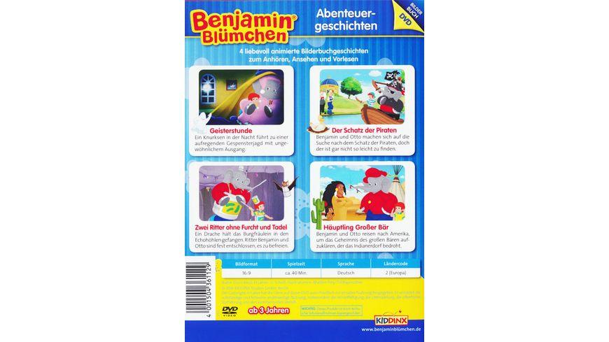 Benjamin Bluemchen Bilderbuch DVD Abenteuergeschichten