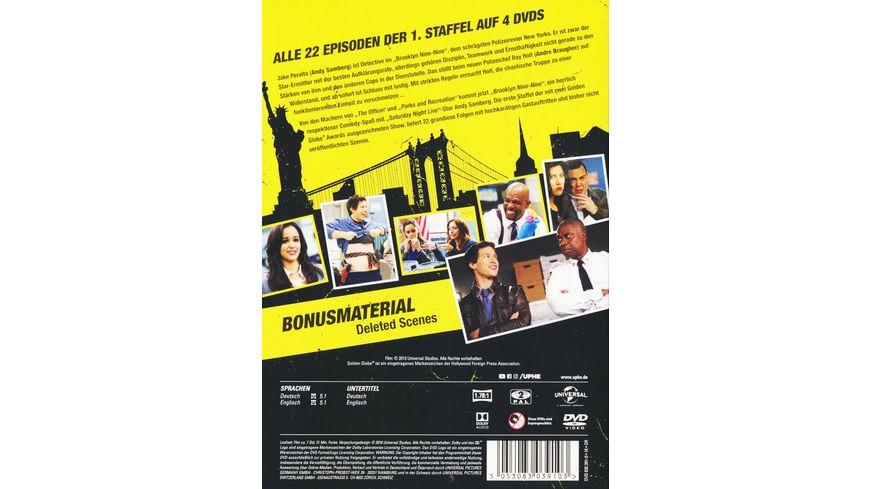 Brooklyn Nine Nine Season 1 4 DVDs