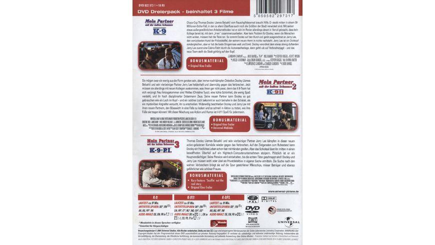 K 9 K 911 K 9 P I Mein Partner mit der kalten Schnauze 3 DVDs